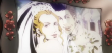 Dean and Carmen's wedding photo (Anime)