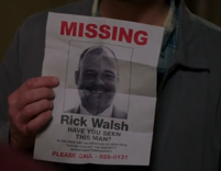 Rick Walsh missing poster 1