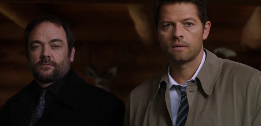 castiel and crowley supernatural wiki fandom powered by wikia