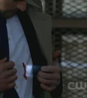 Castiel wounded