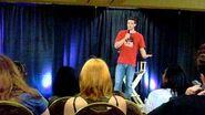 Supernatural NJ Convention Brock Kelly plane story