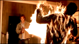Sam burns Jack