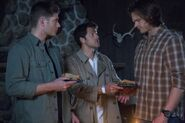 723 Dean Castiel and Sam