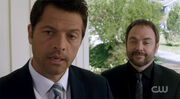 Castiel and Crowley (2)