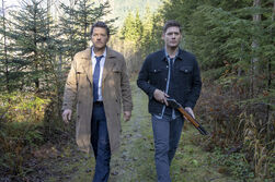 Dean and Castiel in Purgatory