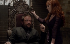 Crowley and Rowena -10x10 The Hunter's Games-