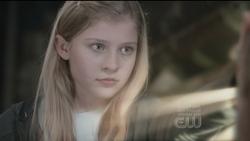 Castiel in Jimmy's daughter