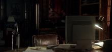 Chuck's desk