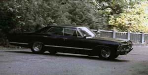 Supernatural Deans Car
