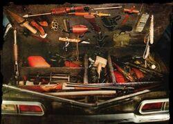 Impala weapon Stash