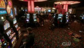 Chuck in casino