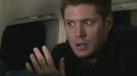 Dean on the plane