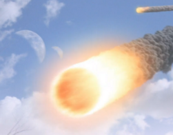 God destroying earth2 with meteors