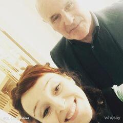 Рут с отцом Дэвидом