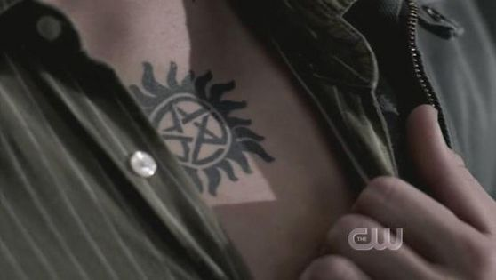 Anti Possession Tattoo Supernatural Wiki Fandom Powered By Wikia