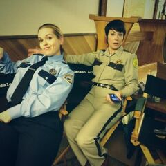 Во время съёмок эпизода «Хиббинг 911»