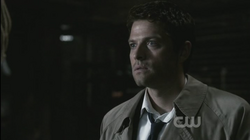 Castiel confronts Zachariah