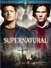 Supernatural season 4 dvd