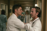 Dean confronts Gabriel in dr Sexy MD