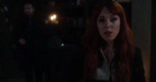 Crowley coerces Rowena to do as she's told (12x2)