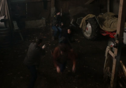 Dark Kaia attacking the Winchesters