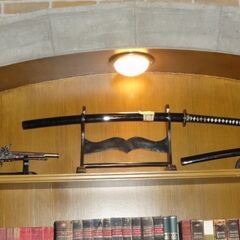 Катана и пистолеты