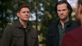 Sam and Dean with God