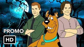 "Supernatural 13x16 Promo ""ScoobyNatural"" (HD) Season 13 Episode 16 Promo - Scooby-Doo Crossover"