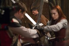 Spn-8x11-charlie-dean-and-swords