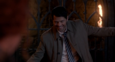 Lucifer reveals his possession of Castiel
