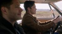 Jack driving the Impala