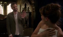 Chuck visiting his sister, Amara