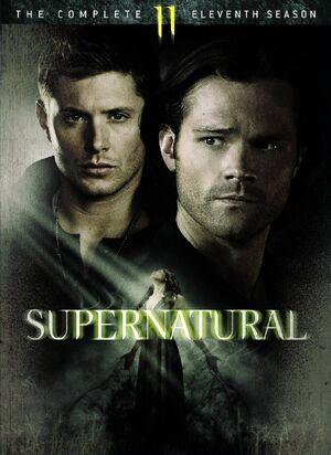 Supernatural season 11 cover