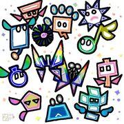 Super Paper Mario Pixls by professorhazard-1-