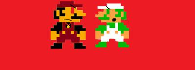Evil Mario!