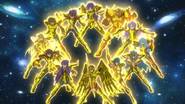 Super Velocidade Cavaleiros de Ouro