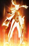 Naruto Nine Tailed Chakra Mode