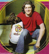 Craig McCraken y su perro mascota