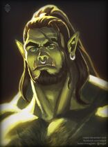 Orc portrait by xelgot dbx1fk2-fullview