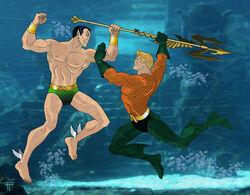 Namor v Aquaman- Dawn of Atlantis