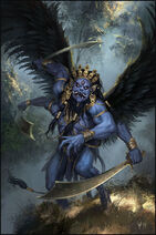Rakshasa demon by mis yula-d8qe6ia