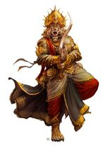 Mythic Rakshasa by DenmanRooke
