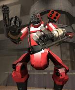 Giant Pyrogun-Bot