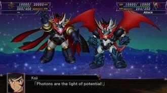 スーパーロボット大戦 X (Super Robot Wars X) Combination Attack