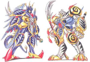 Ryukoou and koryuou