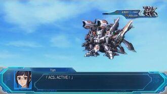 Super Robot Wars OG Moon Dwellers - Liege Geios Attacks
