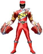 Kyoryu Red Double Armed On