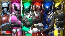 Dekaranger SWAT Mode and DekaMaster