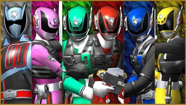 File:Dekaranger SWAT Mode and DekaMaster.jpg