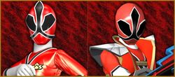 Princess Shinken Red and Hyper Shinken Red